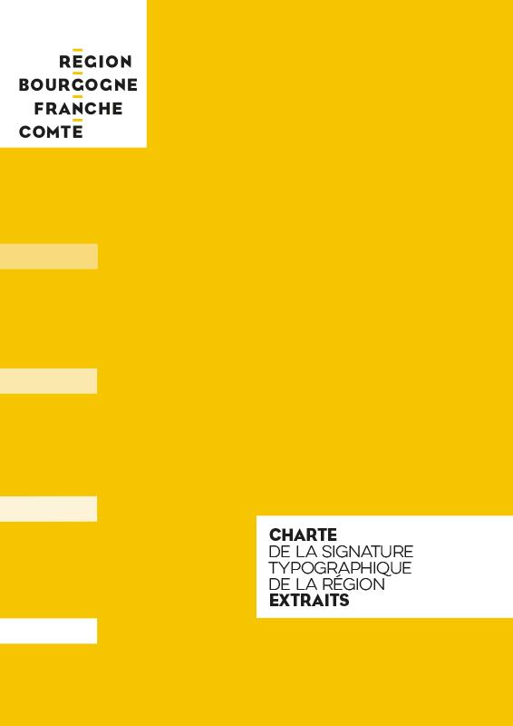 Charte graphique Région Bourgogne-Franche-Comté