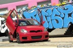 Red Yaris Tuning